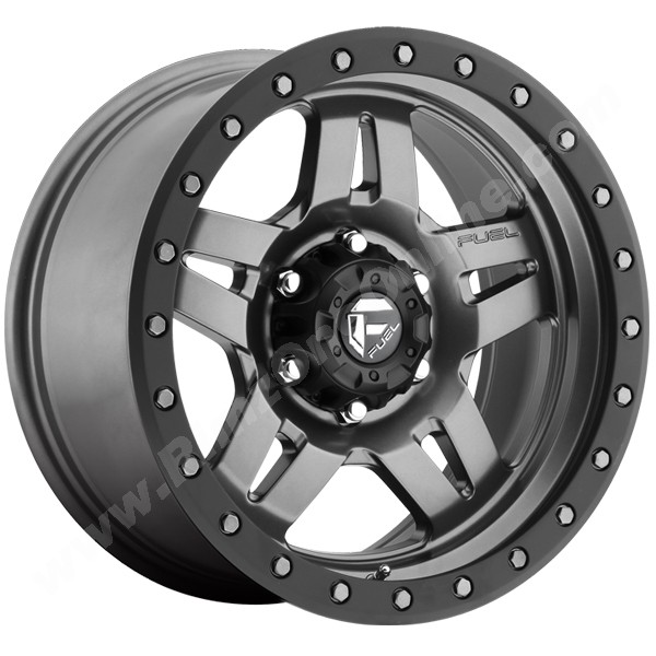 Fuel Wheels GunMetal Matte 20x9 ANZA 5x5.0 Bolt Pattern 01 Offset